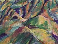 Berge in Farbe