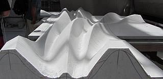 Marmorskulptur im Atelier von Nicolas Bertoux