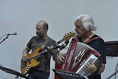 Livemusik mit Akkordeon