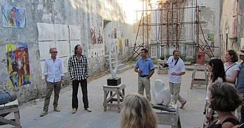 Gemeinsame Ausstellung von Malern und Bildhauern in La Cappella