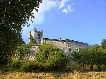 Die romanische Kirche La Cappella
