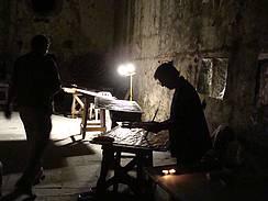 Onvergetelijk is het 's nachts schilderen in La Cappella