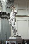 David von Michelangelo in der Galleria dell' Accademia in Florenz