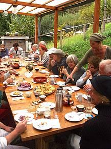 Genießen und Feiern am Campo mit den Bildhauern