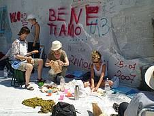 Starke Eindrücke gewinnt man in Marmorbrüchen, Toskana, Italien