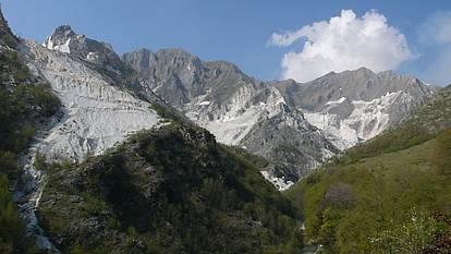 Das Tal der Sklaven bei Carrara
