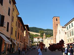 Pietrasanta, the close-by art town