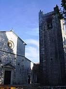 La Cappella with Campanile and Basilica