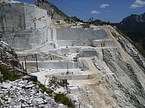 A quarry at Monte Altissimo
