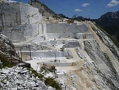 Ein Steinbruch am Monte Altissimo