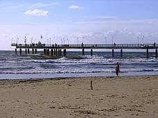 De kust van de Versilia en het strand van Forte dei Marmi