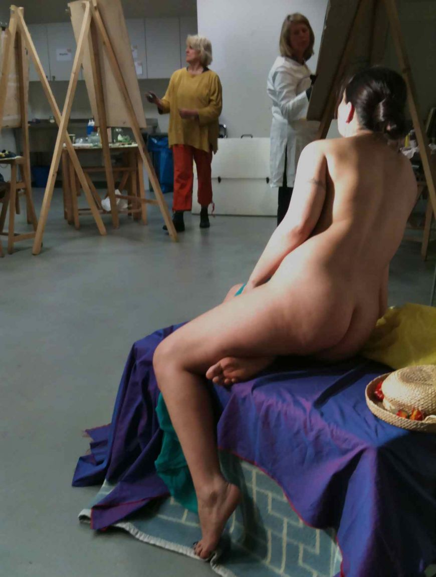 Models in the nude